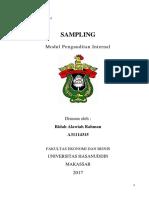 Modul 9 SAMPLING - Audit Internal