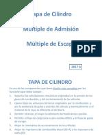 Tapa de Cilindro-M de Admision-M de Escape - 2017 b