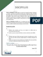 Lección 8 - Discípulos