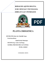 Proceso de Criogenizacion Termodinamica