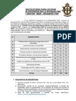 Convocatoria de Docencia - 2017 - Cotid