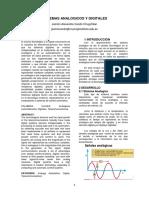 Sistemas Analogicos y Digitales en formato paper ieee