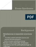 Evans Syndrome 08.27.2010