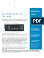 Dell Engineered Solutions for SAP HANA 3 1 Data Sheet