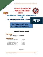Informe de La Cuenca Pumamarca Okok