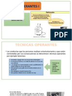 Tecnicas Operantes i