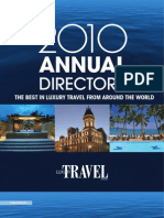 2010 Annual Luxury Travel Directory