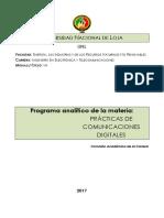 Practicas de Comunicaciones Digitales