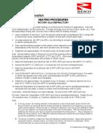 121-Heating Procedures- Rotary Kiln Refractory