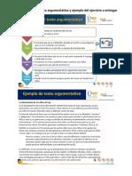 Ejemplo Formato Planeación y Borrador Del Texto Argumentativo