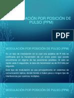 Modulación Por Posición de Pulso o PPM