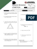 Examen Bimestral Rm Arit 4to Sec Breña