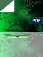 Green Flower.pptx