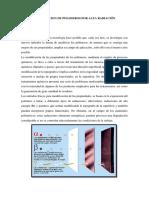Degradacion de Polimeros Por Alta Radiaciãn
