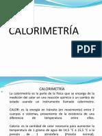 física 2 - Calorimetría