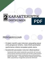 Bab 2 - Karakteristik Instrumen