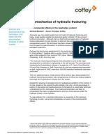 Coffey Insight Geomechanics of Hydraulic Fracturing Michael Blackam