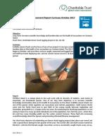 Curieuse Island Achievement Report October 2017