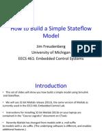 Stateflow Modelling