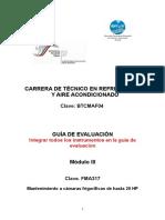 TRAA M-III Instrumentos de Evaluación2