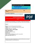 educ 5324-technology plan template  1   1