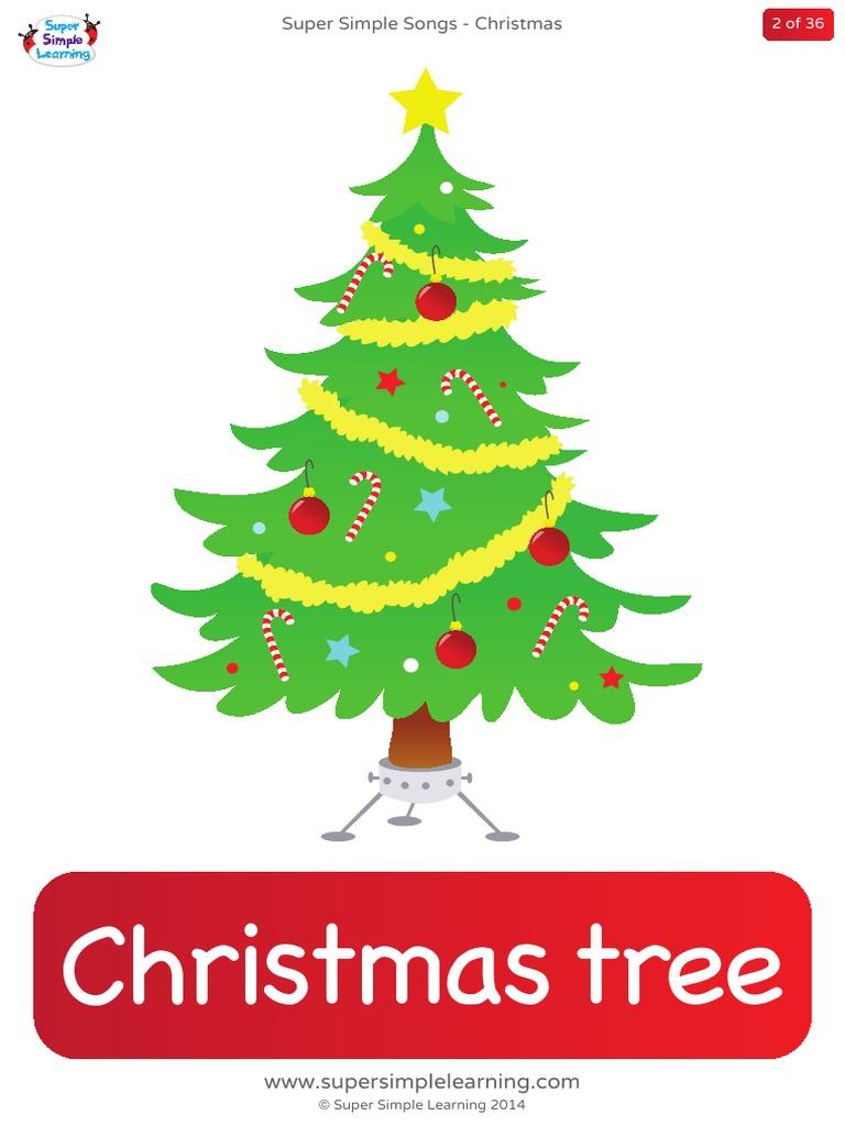 christmas flashcards - Super Simple Songs Christmas