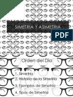 SIMETRIA Y ASIMETRIA
