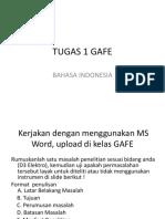 TUGAS 1 GAFE B.Indo