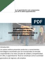 Clase 5. La agroindustria rural.ppt