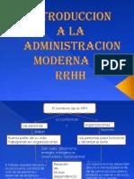 Introduccion a La Administracion Moderna de RRHH (1)