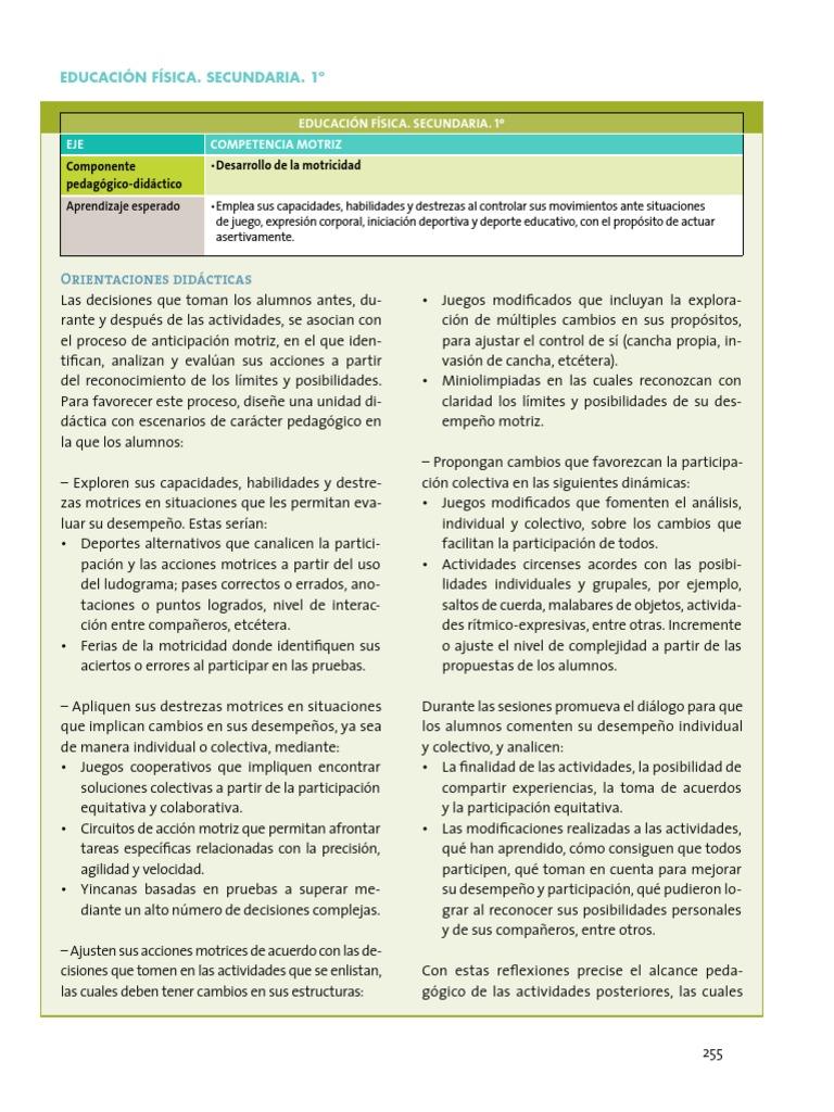 Orientaciones Didacticas Y Sugerencias De Evaluacion 1 Grado