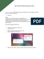 Tutorial Setting TP Dan VPN