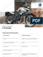 Instruction Manual F700GS