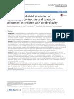 Neuromusculoskeletal Simulation