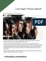 Cinco Carreras Con Mayor _Futuro Laboral_ _ Blog Contrata2.Bo