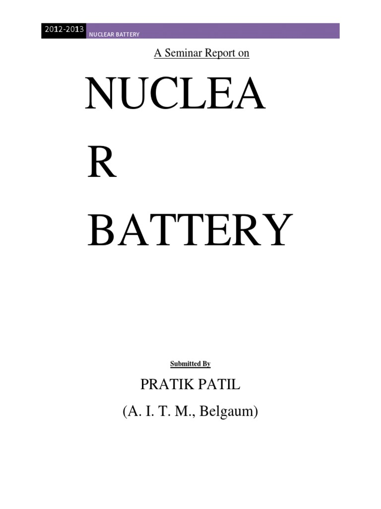 nuclearbatteryseminarreport-130307141745-phpapp01.docx