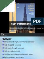 EB001 CH19 - High-Performance Concrete