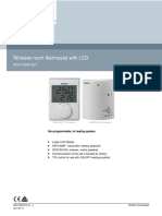 Siemens Termostat