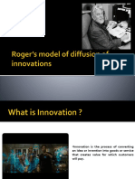 Roger's model of diffusion of innovations.pptx