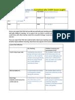 lesson plan  reflection 4