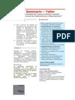 Operatividad y Tecnicas Para Las Importaciones y Exportaciones