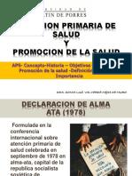 Atencion Primaria y Promocion de La Salud