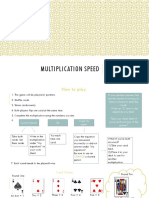 field experience 3-multiplication-speed-instructions
