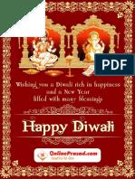 Diwali Pujan Booklet