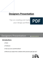 Wix Designer Presentation