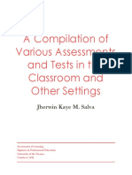 Various Assessments Compilation