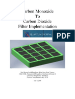 CO to CO2 Filter Implementation