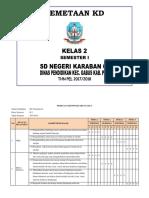 PEMETAAN KD KLS 2 SEMESTER 1 2017-2018-1.docx