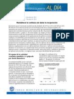 PERSPECTIVAS ECONÓMICO-FINANCIERAS MUNDIALES