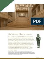 ITC Grand Chola - Chennai (Fact Sheet)